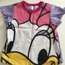 交渉中洗濯1回のみ未使用品 女児 デイジーTシャツ
