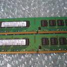デスクトップ用メモリ DDR2 4GB(2GBx2)