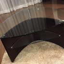 再値下げ!クラスティーナ ガラス リビングテーブル ローテーブル ...