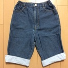 【美品】HUSHUSH膝丈パンツ♡サイズ120