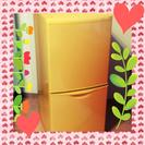 冷蔵庫キュートすぎるオレンジ♡