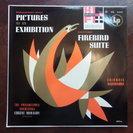 LP フィラデルフィア交響楽団 火の鳥 展覧会の絵
