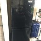 シャープ2015年製小型冷蔵庫、ブラック、137L