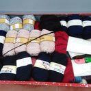 手芸手編み毛糸 約150巻2箱