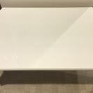 交渉中! 28日まで!ほぼ無傷!白いローテーブル