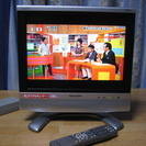 単身者向き!シャープ15型テレビ 地上/BS/CSデジタル放送見れます!