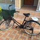 【試使用のみ! 通勤 通学 ご近所へ! 27型 ブラック 自転車 ...
