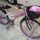 子供用自転車 女の子 24インチ 車庫保管美品