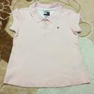 TOMMY ピンクポロシャツ