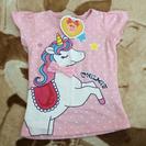新ユニコーンピンクドットTシャツ