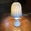 陶器製の照明