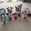 ディズニー等陶器人形&オルゴールセット