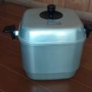 深型蒸し器鍋