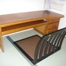文机と座椅子のセット