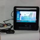 再値下げしました。 TOSHIBA携帯型液晶テレビDVDプレイヤー...