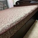 ベッド ワイドダブル