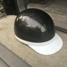★ヘルメット 半帽 黒メタリック SG/PSCマーク