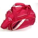 キャロウェイ 濃いピンクボストンバッグ