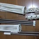 【室内物干し】パラソルハンガー3段(MH-3R)