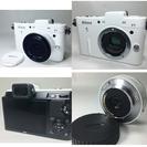 ニコン Nikon 1 V1 薄型レンズキット ホワイトボディ 完