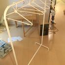 IKEAハンガーラックシンプル