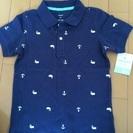 新品タグ付き carter's ポロシャツ紺