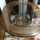 アンティーク調 おしゃれダイニングテーブル&椅子(4つ)セット