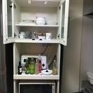 便利な食器棚(縦200 横59 奥行き40)