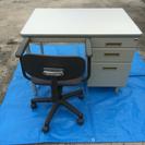 事務机と椅子のセット