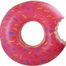 新品 ドーナツ型大きい浮き輪 プール 海 海水浴 アウトドア ピンク