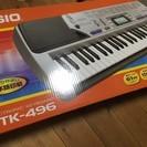 値下げ CASIO 電子キーボード ベーシックタイプ CTK-496