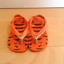 ビーチサンダル オレンジ 13.5-14cm