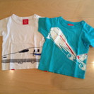 今週のみ‼︎ ojiko のりものTシャツ2枚セット 2A