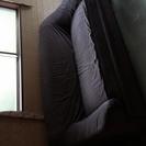 ドイツ製 フクラ ソファー プルアウト式ダブルソファーベッド