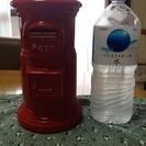 郵便ポスト貯金箱 特大 陶器 非売品