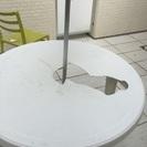 【無料】ガーデンテーブル破損品  プラスチック