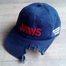JAWSに喰われた人の遺品---おもしろ帽子