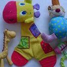 赤ちゃんのおもちゃセット