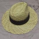 新品★男性用★ストローハット★麦藁帽子★