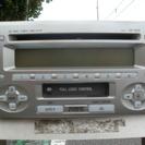 トヨタラクティス 純正オーディオ CD・カセット・ラジオ