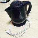 【取引完了】電気ケトル(2013年製、DRETEC、黒、PO-101)