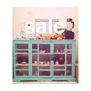インド アンティーク 食器棚
