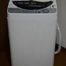 完動★SHARP/シャープ 全自動洗濯機 6.0kg ES-FG65-H 2006年製