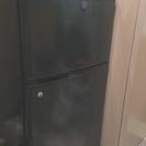 冷蔵庫差し上げます。SANYO SR-9R 紺色 86L 2ドア