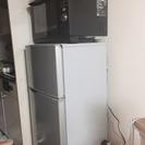 【交渉中】一人暮らし向け 冷蔵庫・オーブン機能付き電子レンジセット