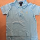 ラルフローレン ポロシャツ水色 2T