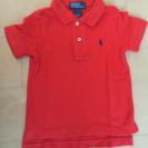 ラルフローレン ポロシャツ2T オレンジ
