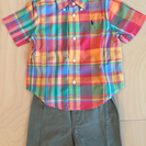 ラルフローレン シャツとパンツのセット 24m
