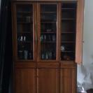 美品 食器棚
