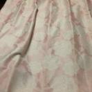 【中古】カーテン(ピンク)&遮光カーテン